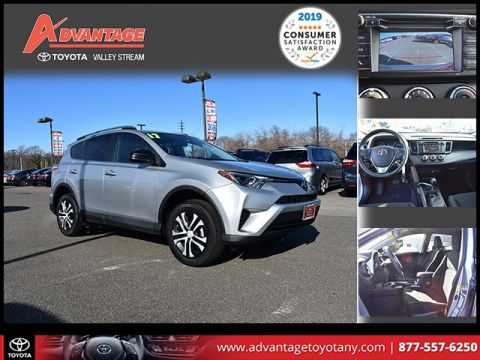Certified Pre-Owned 2017 Toyota RAV4 LE AWD 4D Sport Utility