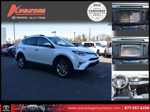 Certified Pre-Owned 2017 Toyota RAV4 Limited AWD 4D Sport Utility