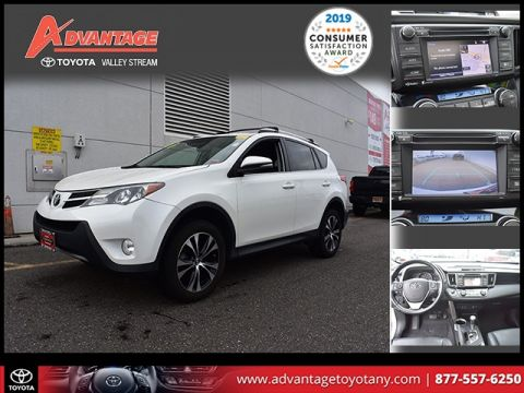 Certified Pre-Owned 2015 Toyota RAV4 Limited AWD 4D Sport Utility
