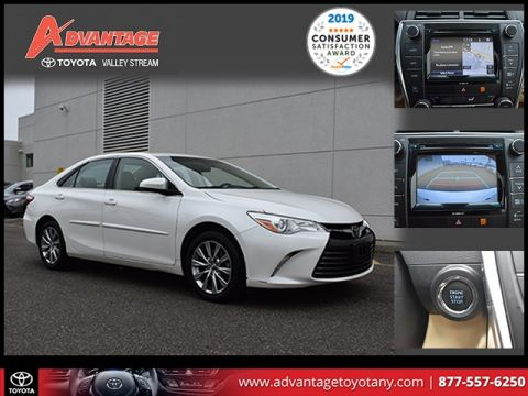 Certified Pre-Owned 2017 Toyota Camry XLE FWD 4D Sedan