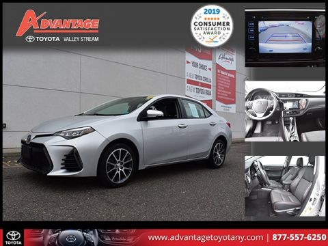 Certified Pre-Owned 2017 Toyota Corolla 50th Anniversary Special Edition FWD 4D Sedan