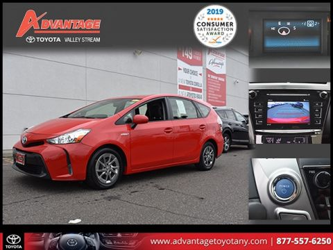 Certified Pre-Owned 2017 Toyota Prius v Four FWD 5D Wagon