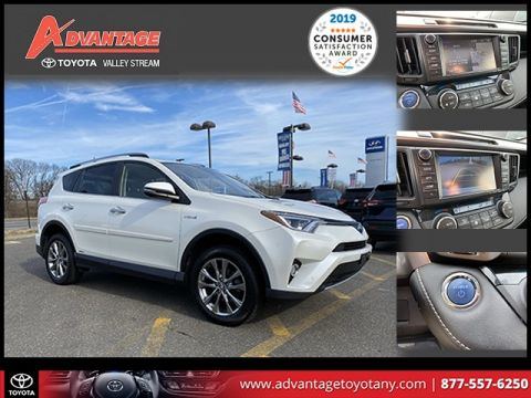 Pre-Owned 2017 Toyota RAV4 Hybrid Limited AWD 4D Sport Utility