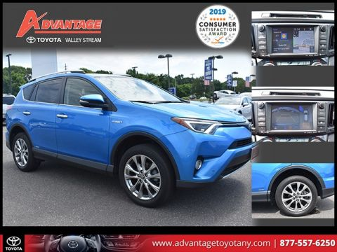 Certified Pre-Owned 2016 Toyota RAV4 Hybrid Limited AWD 4D Sport Utility
